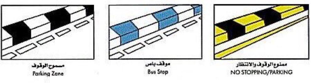 What is the secret of the different colors of the sidewalks in Saudi Arabia2 - ما هو سرّ الألوان المختلفة للأرصفة في السعودية